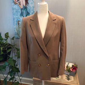 Talbots 100% Wool Double Breasted Blazer Jacket 10